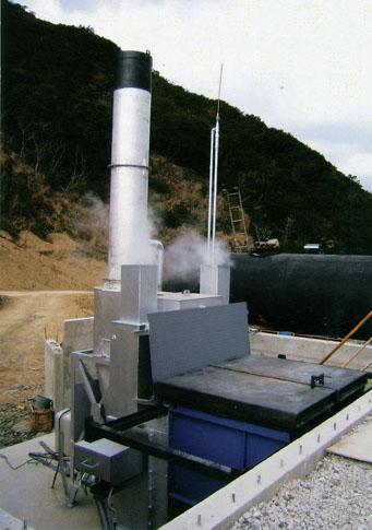 SG-500(s)焼却炉 一括投入式届け出不要タイプ