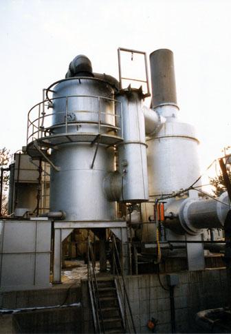 湿式 排ガス処理施設